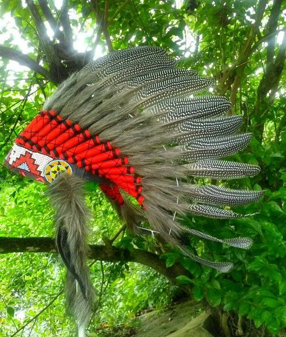 SALE Exotic Rare Guineafowl Feathers Native American inspired