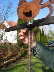 Fun tormenting squirrels.  Put a Slinky on the pole the bird feeder is on, attach at top and bottom.