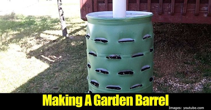 We've all seen those large 50 gallon barrels sitting round. Have you ever thought what you could use an empty barrel for? Well over at YouTube, Scott Hayden of Spiffyguy Adventures has the answer. With his 50 gallon barrel, Scott created an amazing planter which includes a worm composting tube that can hold up to …