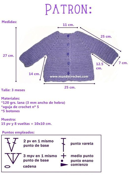 jersey punto y crochet-ninos-otakulandia.es (10) | Bebes | Pinterest ...