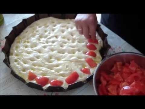 10 minuti per... Preparare Focaccia o Pizza bianca. Ricette Bimby. HD - YouTube