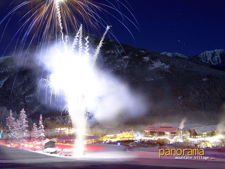 Panorama Mountain Village New Years Eve Fireworks