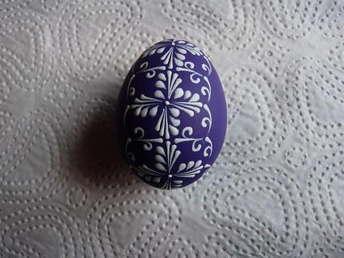 Velikonoční kraslice fialové / Zboží prodejce Maruska5555   Fler.cz