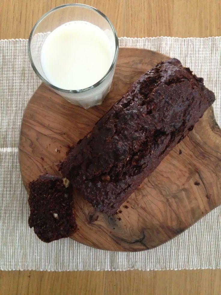 Gunns momsemat: Grovt bananbrød med sjokolade og hasselnøtt