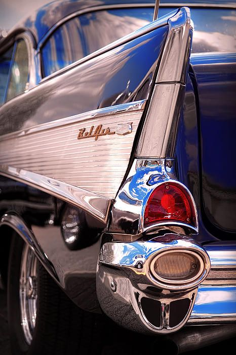 1957 Chevy Bel Air - by Gordon Dean II