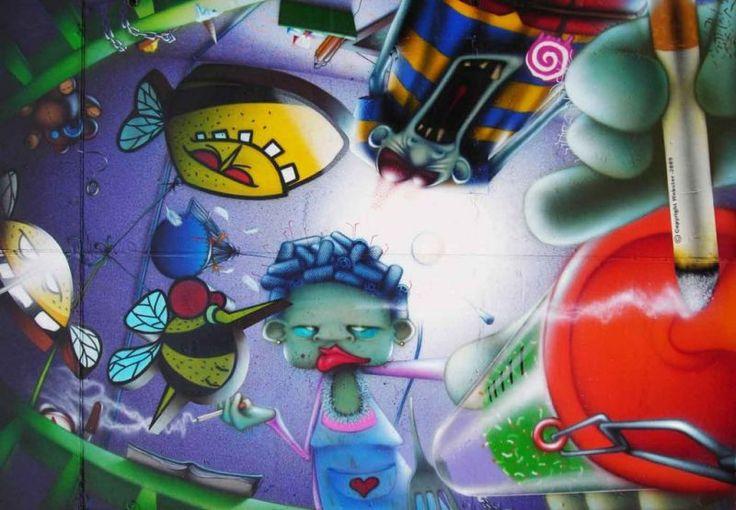 Webster - Characters, tecnica mista e collage, Conegliano (TV), 2008
