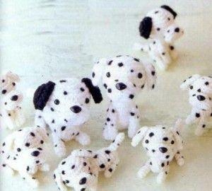 200 схем амигуруми на русском: Амигуруми щенок