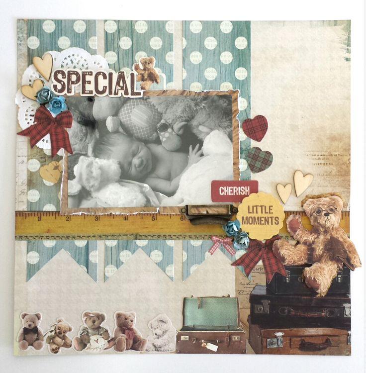 Kaisercraft - Teddy Bear's Picnic - Amanda Baldwin