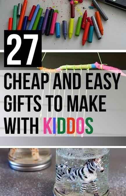 27 Cheap And Easy Gifts To Make With Kiddos, caja secreta camuflaje de libros, marco de espejo con juguetes y recipiente hecho con arena y pegamento