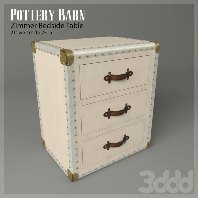 Прикроватный столик Zimmer Bedside Table (Pottery Barn)