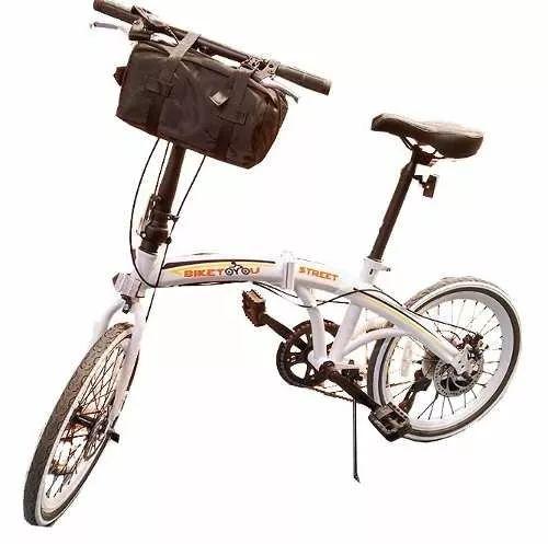 bicicleta dobrável bike 20 freio disco 7 velocidades shimano