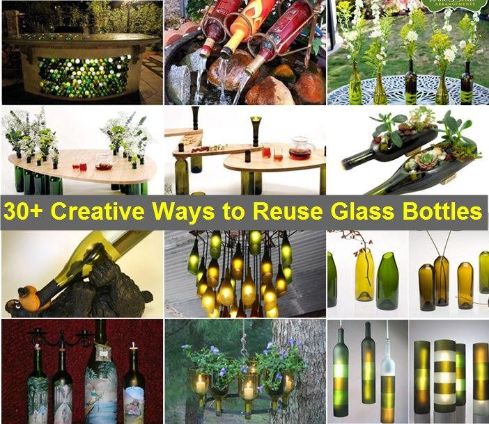 163 best crafts images on pinterest christmas deco for Easy way to cut wine bottles