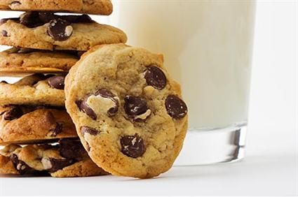 By adding the chick peas and the walnuts you use less butter and it makes for a yummy protein cookie. The kids wont know.