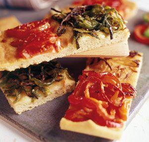 La coca, la pizza española - Mercado Calabajío