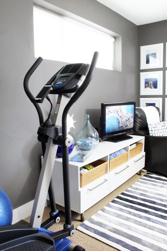 Stylish Home Gym Ideas For Small Spaces In 2020 Small Home Gyms Home Gym Design Gym Room At Home