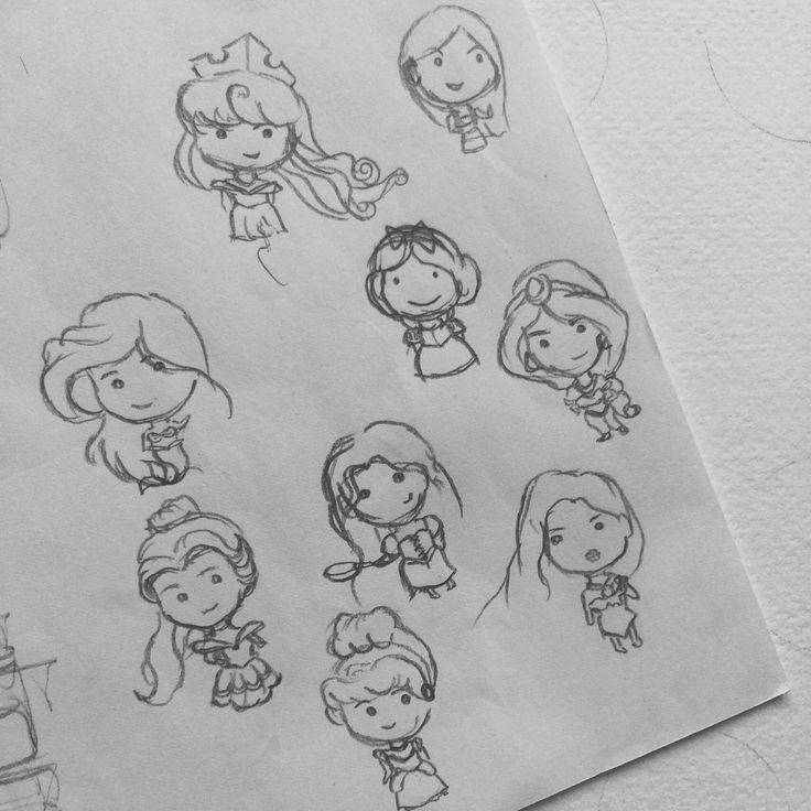 A cuter version of Disney's princesses