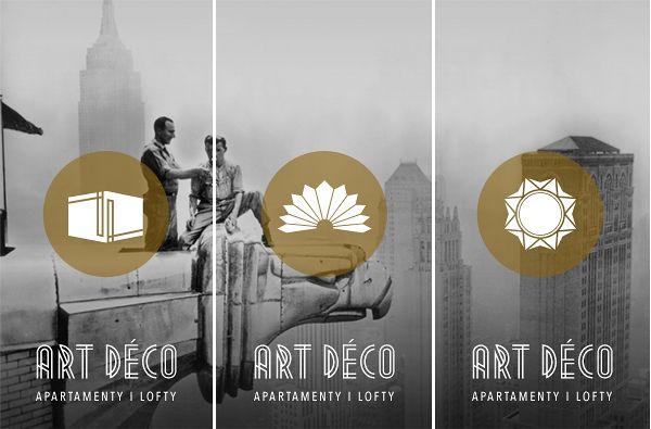 ART DÉCO Apartamenty i lofty  Logo | Graphic design    Aleksandra Fijałkowska |   http://www.behance.net/gallery/ART-DECO/4566015