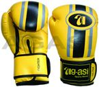 Boxing Gloves in high quality Artificial leather, Made of super nylex artificial leather with extra thick latex padding, Artificial leather strap with velcro fastener. Best of training and everyday sparring http://agasi-martialarts.com/Boxing-Glove.html