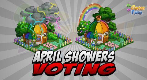 April Showers Voting