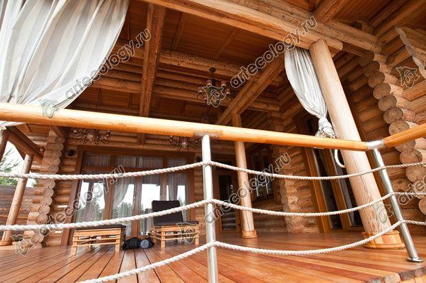 Полузакрытая терраса - прекрасное место для отдыха