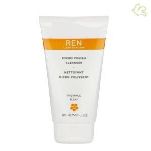 REN Skincare - Nettoyant Micro Polissant Pour les teints ternes, sèches ou rugueuses. Soin exfoliant naturel idéal pour les peaux ternes ou en manque d'éclat, le Nettoyant Micro Polissant REN aide à réduire la taille des pores et l'apparence des rides. La peau est douce, purifiée et plus lumineuse. 150ml - 27€ #exfoliant #gommage #soin #visage #eclat #radiance #ren #clean #skincare #naturel #nettoyant #peau #eshop #paris www.officina-paris.fr