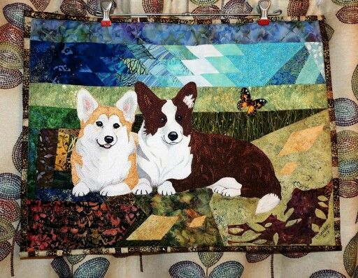 52 Best Images About Animal Art Quilts On Pinterest