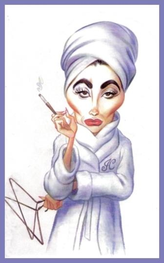 "Joan Crawford - did you see the movie ""mommie dearest"" what a nut job, refused to use wire hangers1"