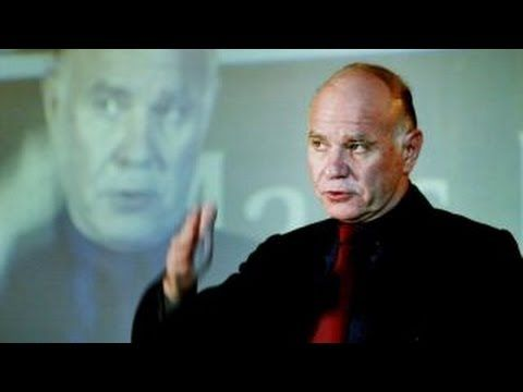 Marc Faber Blog: Marc Faber: A Trump Victory is Much Better for U.S...