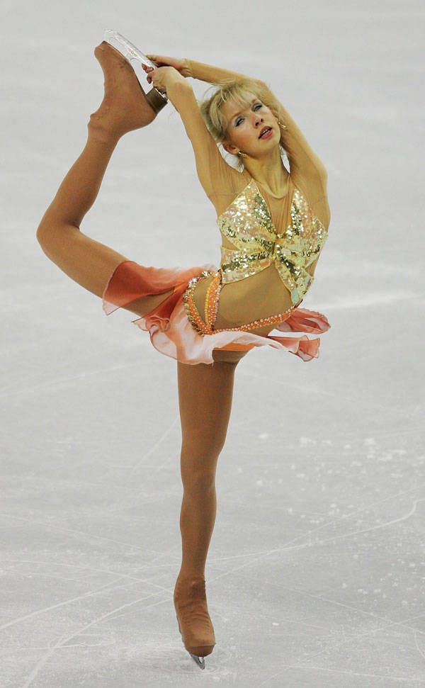 interesting...30 Best Figure Skating Outfits of All Time - Elle...most are very questionable