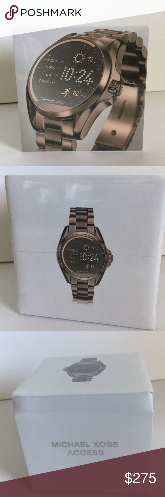 Michael kors smart watch New! Still wrapped! Compatible with android and iPhone. Michael Kors Accessories Watches
