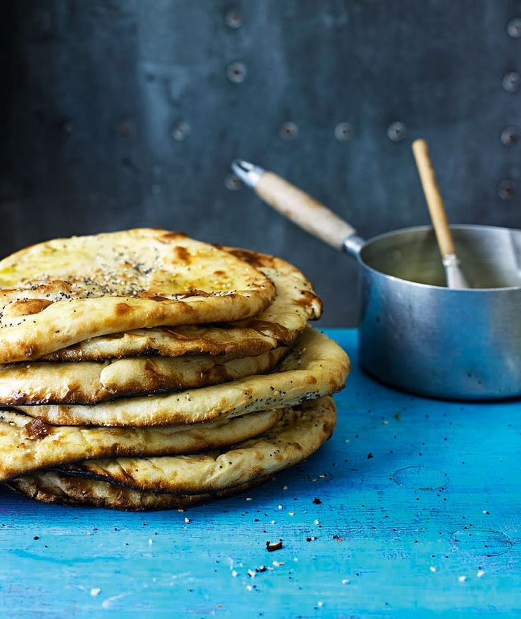 There's no better sidekick to a homemade curry than some freshly baked, buttery naan breads using this recipe by Cyrus Todiwala.