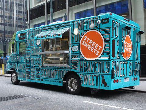 Street Sweets truck by Landers Miller