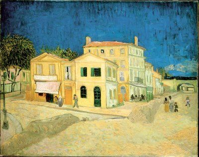 "Van Gogh ""The Yellow House"""