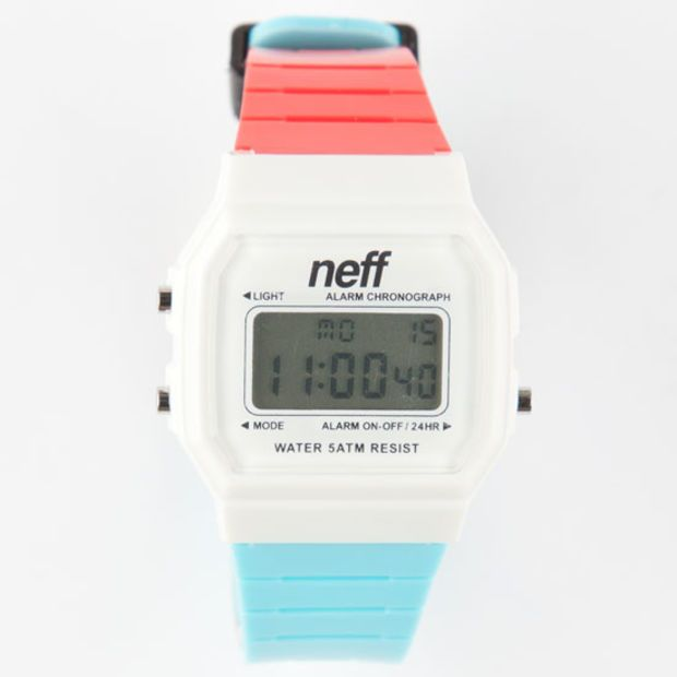 Neff Flava Watch Red/White/Blue One Size For Men 26260894801