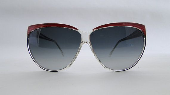 Occhiale Vintage donna anni '80 di Puntidivi su Etsy #vintage #piave #sunglasses