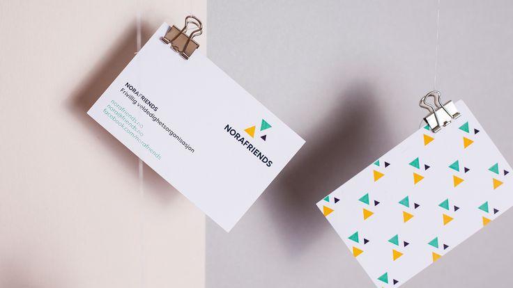 Design av visittkort til NorAfriends.