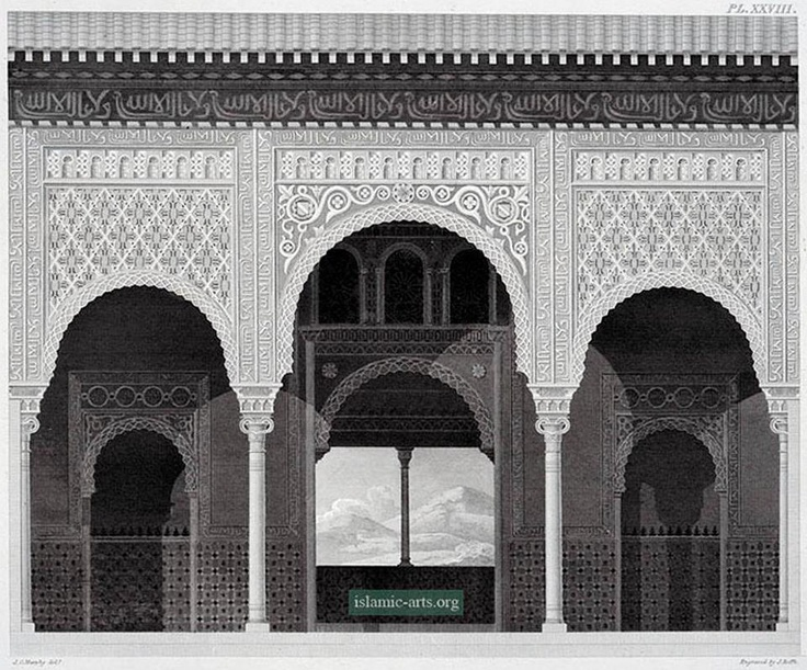 The Alhamra at Granada as viewed by James Cavanah Murphy  http://islamic-arts.org/2012/the-alhamra-at-granada/