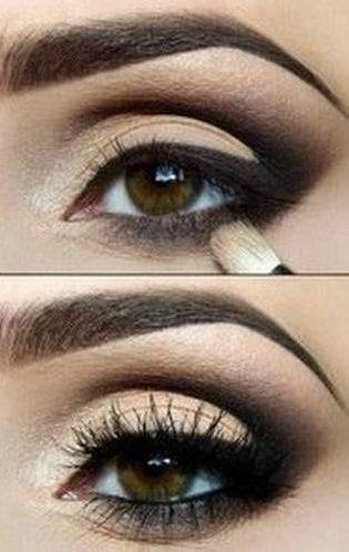 Tutorial: Apricot and Black Makeup