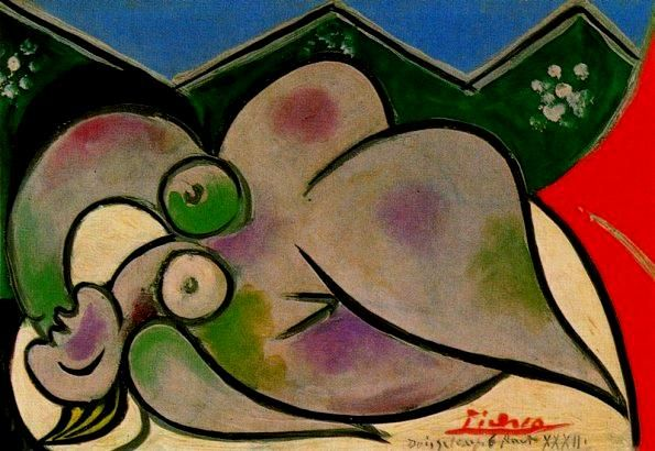 Pablo Picasso, Naked Woman Lying Down, 1932