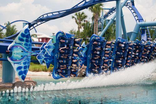 Underwater Roller Coaster Roller Coaster Is Themed