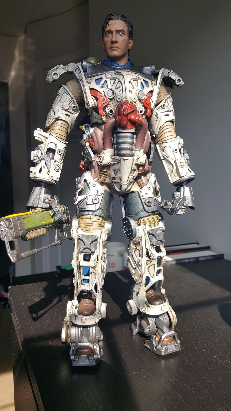 ThreeZero 1/6 Scale T-45 Power Armor #Fallout4 #gaming #Fallout #Bethesda #games #PS4share #PS4 #FO4