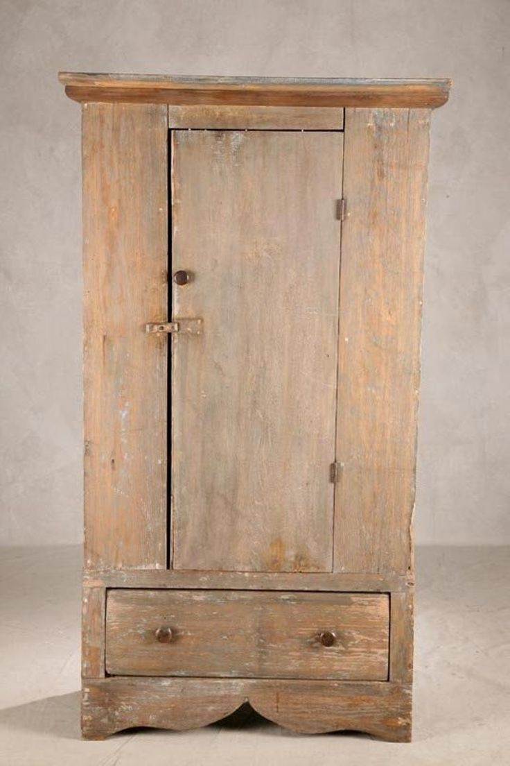 1328A: COUNTRY JELLY CUPBOARD. Pine and poplar with wor