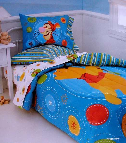 Winnie Pooh Bedset Twin Bed