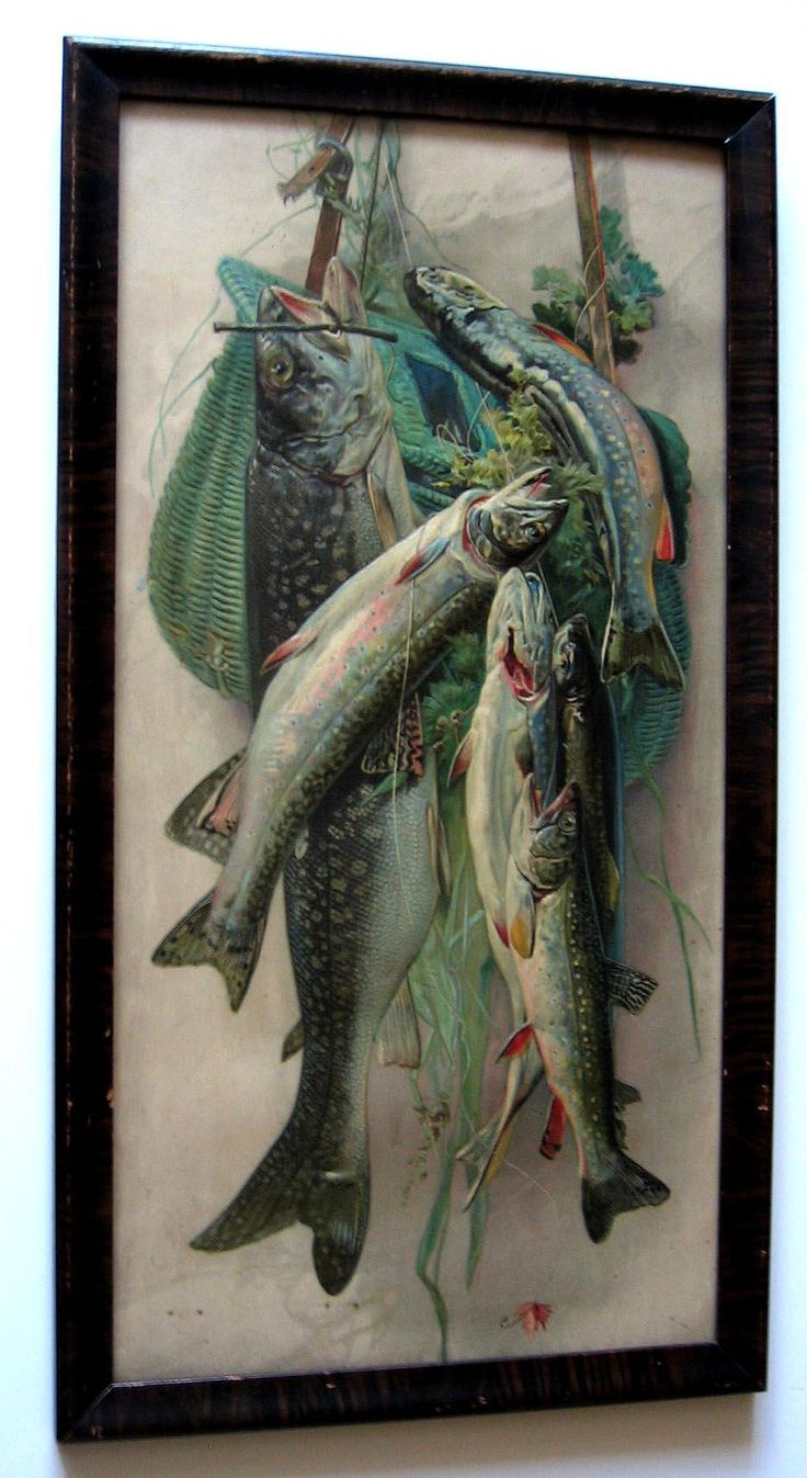 1000 images about antique prints 4 sale on pinterest for Fly fishing creel