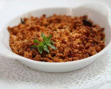 Voila une #recette aussi originale que gourmande...  #Crumble de #carottes aux noisettes et jus d'Orange Mini Fruité, à retrouver sur www.fruite.fr/recettes/crumble-de-carottes-au-jus-dorange-fruite