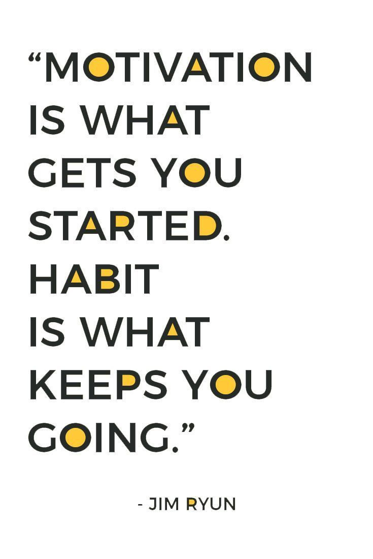 Tired of feeling overwhelmed and defeated? Motivation only gets you so far, habits are what get you to the finish line. You can't be successful and achieve your goals without good habits. Click to learn how to automate your progress with good habits.