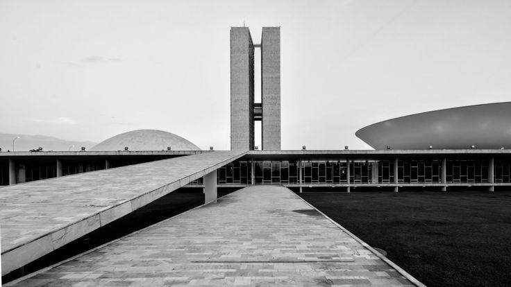 #Architecture in #Brazil - Palácio do Congresso Nacional by Oscar Niemeyer, ph Gonzalo Viramonte