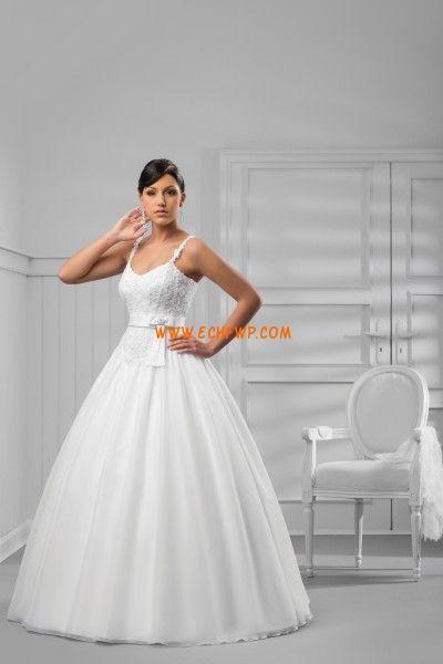Kert / Kültér Tüll  Ujjatlan Évjárat Menyasszonyi ruhák