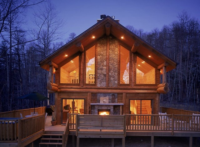 Watershed Cabins - Great Smoky Mountains, North Caroline - Our kid-free getaway