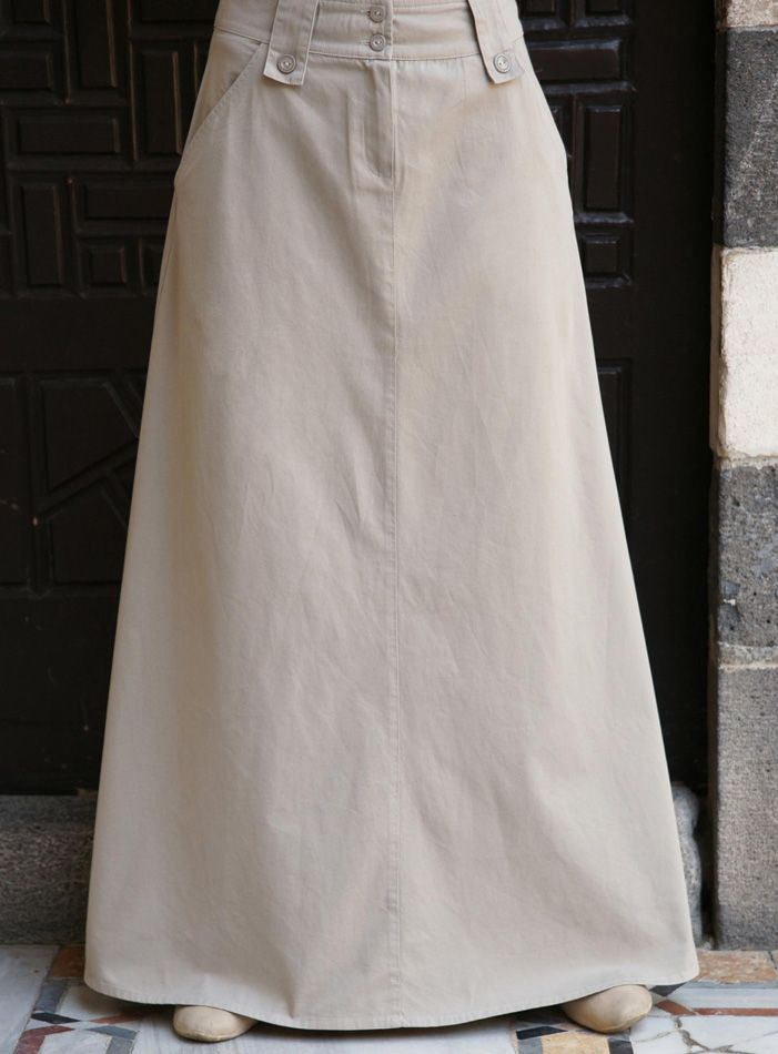 SHUKR USA | Basic A-Line Flared Skirt